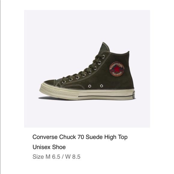 f33da691c19e2e Converse chuck 70 Hi utility green black